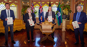 2019 RSNSW Award winners at the Government House Presentation Ceremony - August 2020