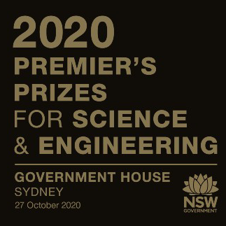 NSW Premier's Prizes for Science and Engineering 2020