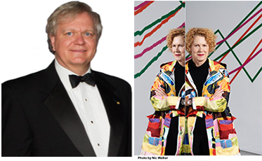 Brian Schmidt and Elizabeth Ann Macgregor: speakers at the Annual Dinner 2020 and the 1284th OGM