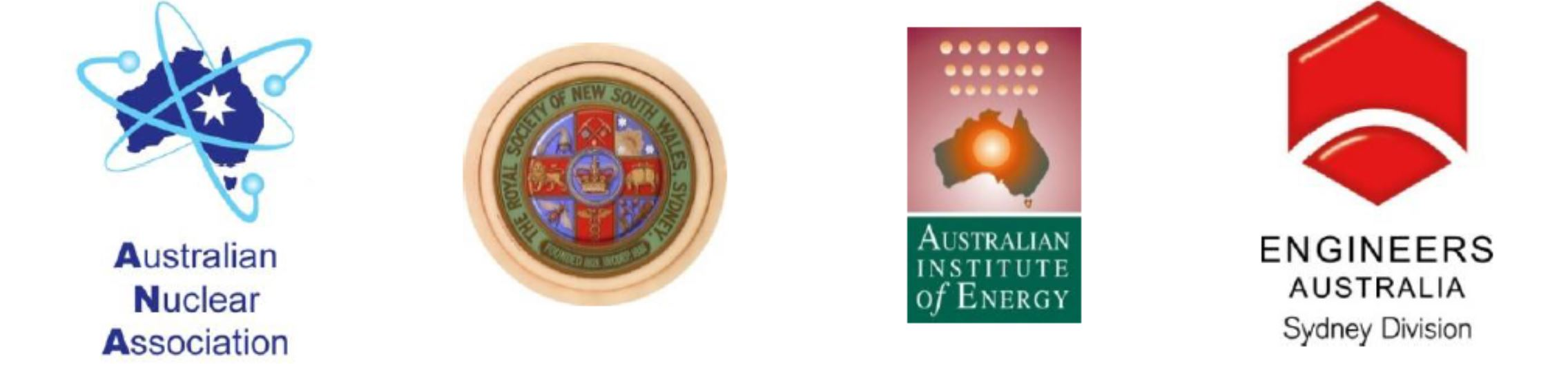 Four societies logos